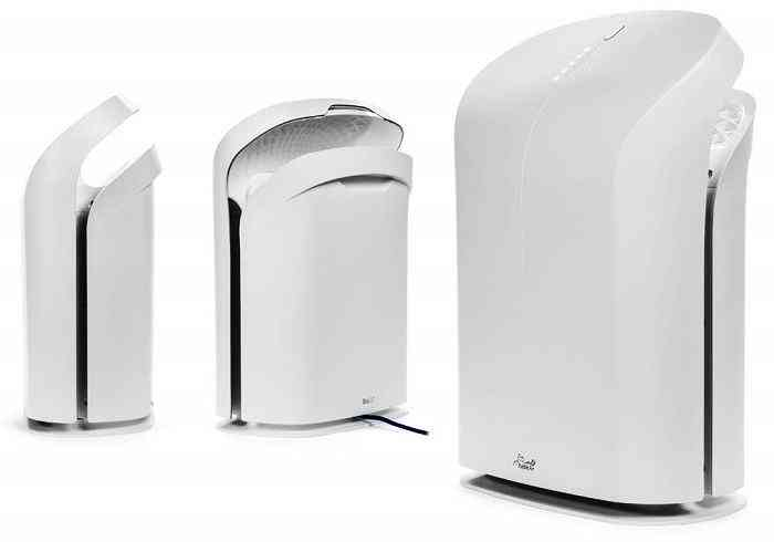 Rabbit Air BioGS 2.0 Ultra Quiet HEPA Air Purifier (SPA-550A)