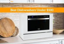 Best Dishwasher Under 500 dollars review